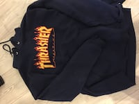 Sweat trasher flamme taille L