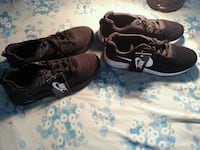 pair of brown Nike Air Force 1 low shoes Montréal, H1H 1H4