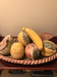 Mexican made fruit bowl