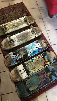 used boards decks complete.