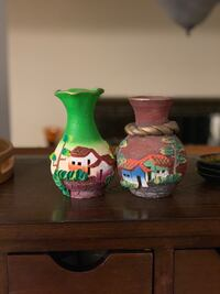 2 vases from Guatemala  Waterloo, N2T 1Z9
