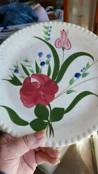 1948 vintage southern pottery plate. Radcliff, 40160
