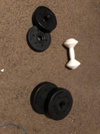 Weights with dumbbell Pearl, 39208