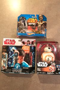 Lot of Star Wars toys... each MIP!