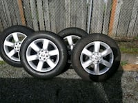 "Nissan Titan 20"" wheels and Tires w/lugnuts Parkland, 98444"