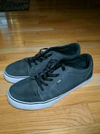 Vans low top dark grey size 10  Windsor, N9J 3S6