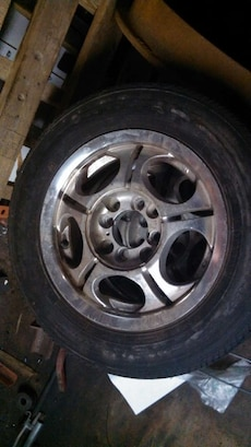 honda civic crx rims and tires
