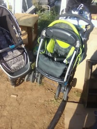 baby's black and green travel system Midland, 79707