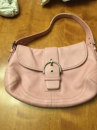 Pink Coach purse— genuine and in great shape!! Louisville