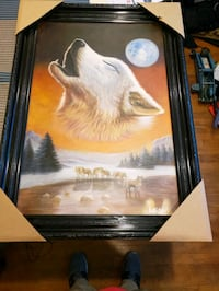 Wolf painting  from Germany