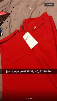 rouge jean rouge breal Lille, 59000