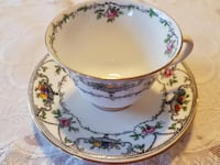 1900-1933 Antique Duchess China Edwards & Brown (E & BL) Stoke on Trent Tea Cup Set For Sale! Ottawa