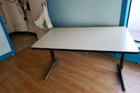 rectangular white and black wooden table 540 km