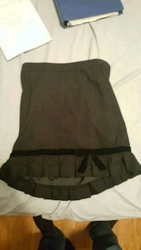 Black skirt with velvet ribbon 550 km