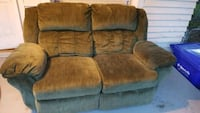 brown suede 2-seat sofa Greenville, 27858