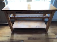 Buffet Table w/ wine rack Winchester, 22602