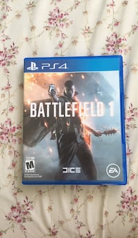Battlefield 1 ps4 game case Tacoma, 98409