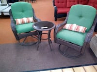 3pc wicker patio set Johnstown, 15904