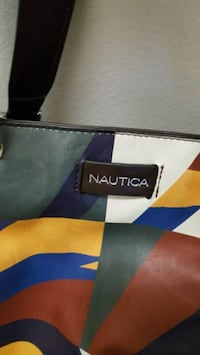 Nautica Leather Tote bag