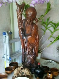 Hand carved Wooden Statue very old Mililani, 96789