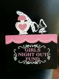 Girls night out fund piggy bank