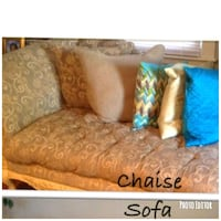 Chaise (sofa)  Pillows not included Wyandanch, 11798