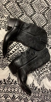 Lucchese Hand Made Leather Cowboy Boots Women's sz 7.5 Toronto, M2R