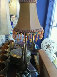 brown and black table lamp Montreal, H8R 1E2