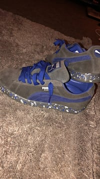 pair of blue-and-gray Puma sneakers Fredericksburg, 22401