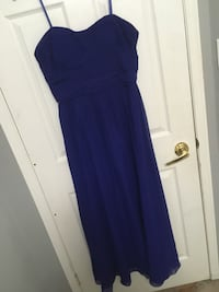 blue prom dress from Laura Petites, worn once ...will negotiate on price !! Bowmanville, L1C 5C8