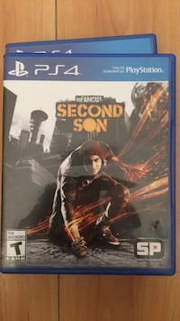 Ps4 infamous second son game