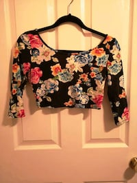 Floral tops and leggings