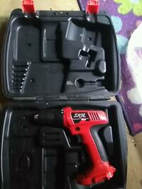 red and black Skil cordless hand drill with case Chattanooga, 37404