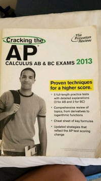 Cracking the AP Calculus AB & BC Exams 2013 South El Monte, 91733