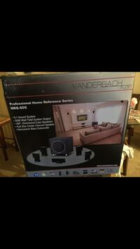 gray and black home theater system box Miami, 33179