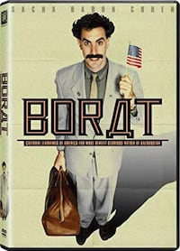 USED DVD >>> Borat: Cultural Learnings of America for Make Benefit Glorious Nation of Kazakhstan (Wide Screen) Toronto, M6A 2T9
