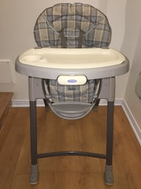 High chair GRACO/ Chaise haute  Laval, H7H