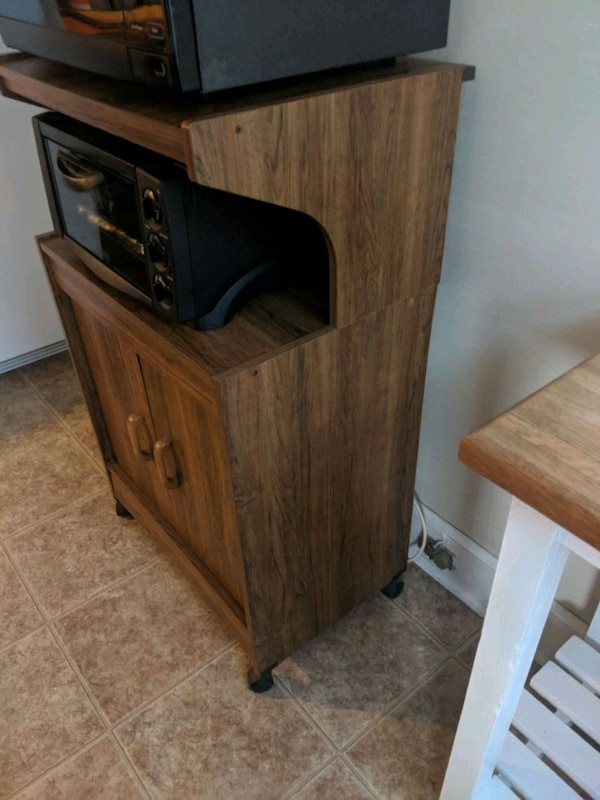 Used Microwave And Toaster Oven Cart For Sale In Hawthorne Letgo