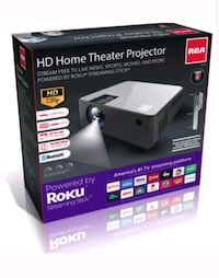 Rca HD Roku Smart Home Theater Projector