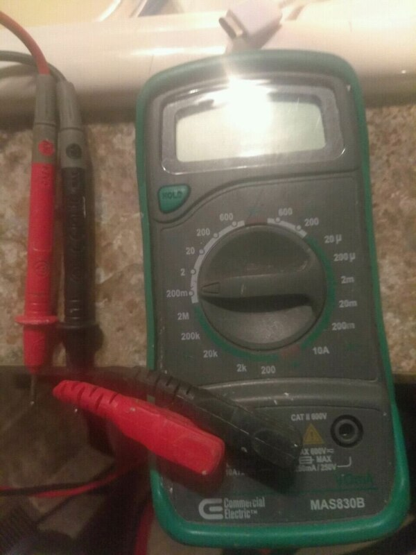 Commercial electric omm reader