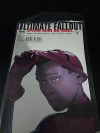ultimate fallout spider-man no more comic book Saint Thomas, N5R 3R4