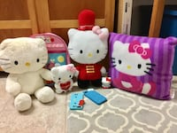 Hello kitty collectables/ lalaloopsy knapsack