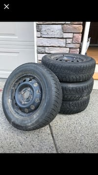Studded winter tires 185X75 r14 Kelowna, V1X 7N3