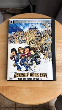 Detroit Rock City DVD Movie Laurel