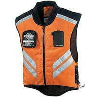 ICON Mil-Spec Motorcycle Mesh Vest Orange Grey Gra Fredericksburg, 22401