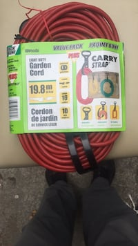 Electrical Extension Cord 65' Toronto, M9A 1H4