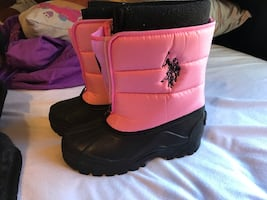 Girls Polo snow boots