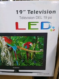 Curtis 19 inch television LED