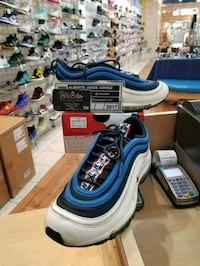 Nike Air Max 97 Pull Tab Obsidian White Size 8.5 Beltsville, 20705