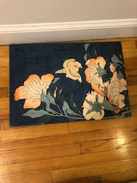 Black and yellow floral painting New York, 10036